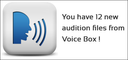 Voice over casting - Voice Auditions
