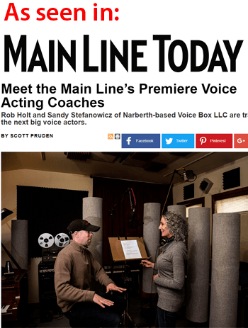 Voice Box Voice Overs - Main Line Today